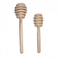 Wooden Honey Dipper 5 inches