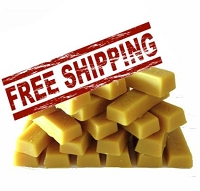 20 - 1 oz.  Bars of Beeswax