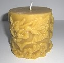 Beeswax Candle - Hummingbird