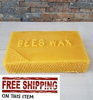 2 pounds Beeswax - Free Shipping