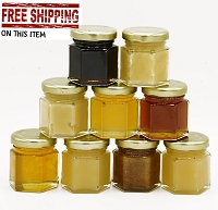 Honey Flight Sampler - 2 oz. Jars