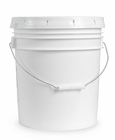 5 Gallon Bucket Raw Wildflower Honey - 60 pounds
