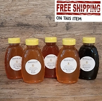 1 lb. Variety Pack: 5 Honey Varieties  (COPY)