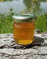 2 oz. Round Clover Honey Favor Jar