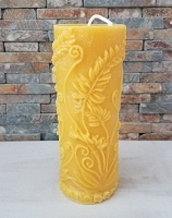 Beeswax Candle - Rustic Fern