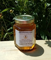 6 oz. Jar Goldenrod Honey