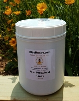 5 lbs. Raw Buckwheat Honey