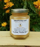 6 oz. Raw Star Thistle