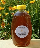 2.5 lbs. Raw Wildflower Honey