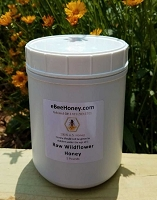 5 lbs. Raw Wildflower Honey