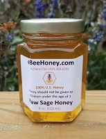 6 oz. Raw Sage Honey