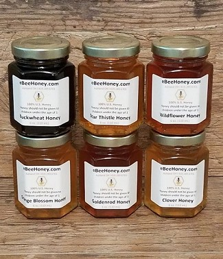 6 oz. Variety Pack - Get 6 Honey Varieties