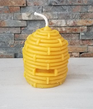 Beeswax Candle - Large Skep