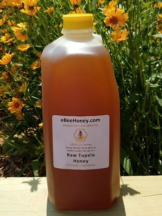 6 lbs. Raw Tupelo Honey