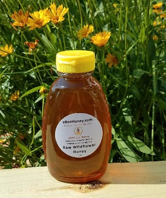1 lb. Raw Wildflower Honey